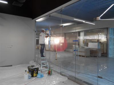 Zabudowy szklane naprawa