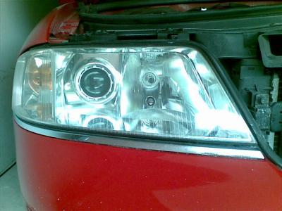 Polerowanie reflektorów Audi A6