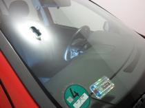 Naprawiona szyba samochodowa