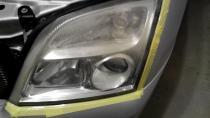 Opel Vectra C polerowanie reflektorów Gorzów