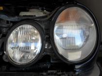 Regeneracja reflektorów Mercedes e klasa po